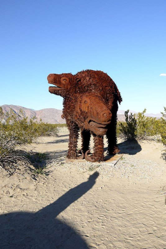 GALLETA MEADOWS - BORREGO SPRINGS SCULPTURES
