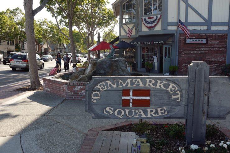 Denmarket Square Little Mermaid Solvang