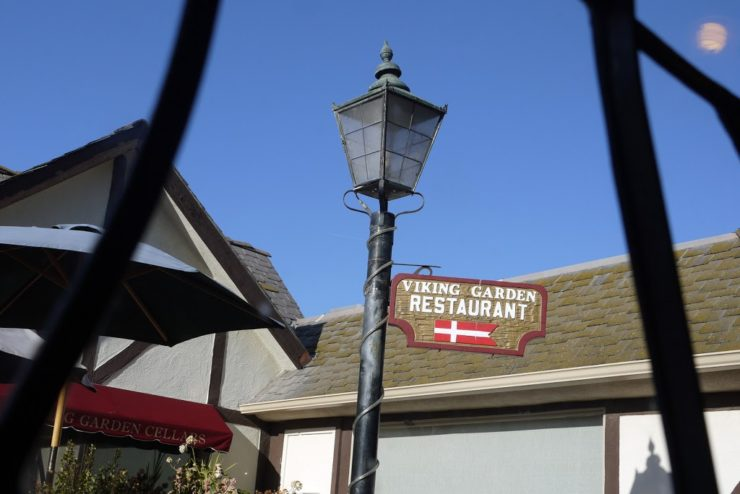 Viking Garden Restaurant Solvang California