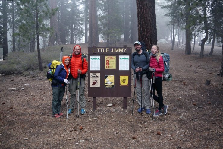 Angeles National Forest - Little Jimmy Campsite - Pacific Crest Trail Hikers