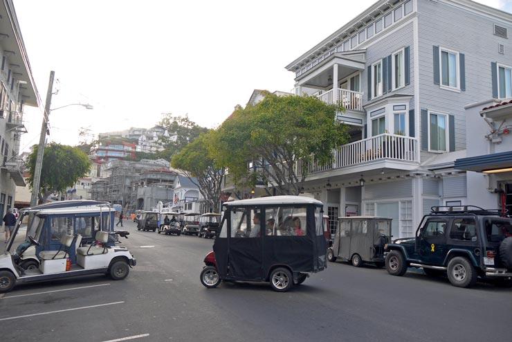 Golf Carts in Avalon Catalina Island