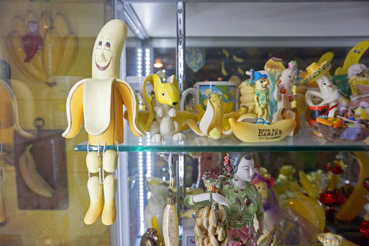 Banana Museum items